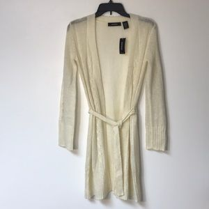 NWT EXPRESS CARDIGAN WITH BELT